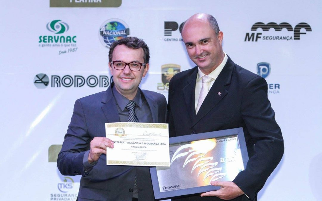Premiação por Mérito em Serviços de Segurança Privada Nacional 2015