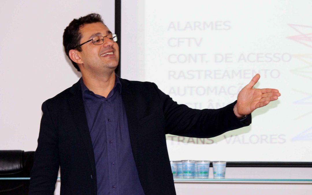 Grupo Intersept recebe o palestrante Marcos Sousa