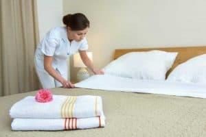 limpeza para hotéis